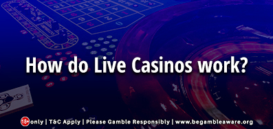 How Do Live Casinos Work?